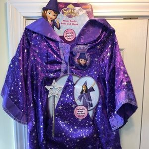 Costume Disney Sofia the First Wizard